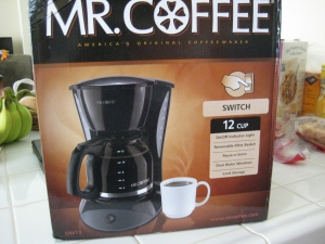 day 17 new coffeemaker