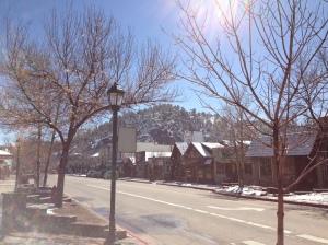 streets of Estes Park