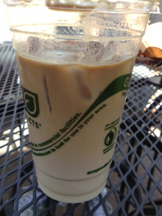 Iced Latte from Wild Boar Cafe Fort Collins, CO