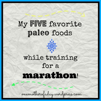 paleo food marathon training