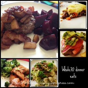PicMonkey Collagewhole30dinner