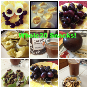 PicMonkey Collagewhole30snacks