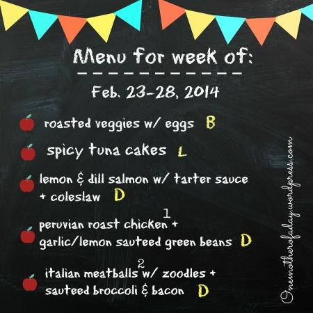 menufoodprepweekof2-23to2-28-14