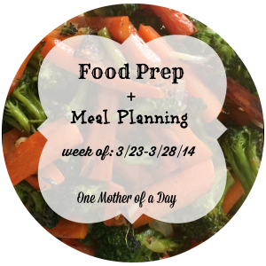 food prep meal planning paleo