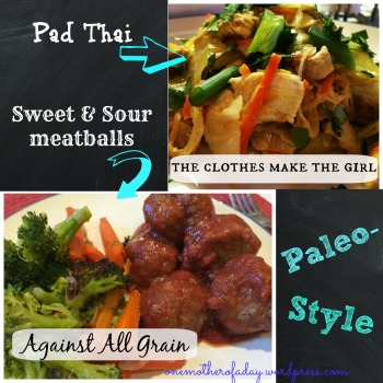 Well Fed Pad Thai Against all grain meatballs