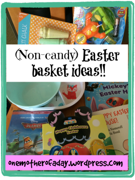 Twenty non-candy easter basket ideas for toddlers
