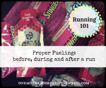 Running 101 Proper Fueling