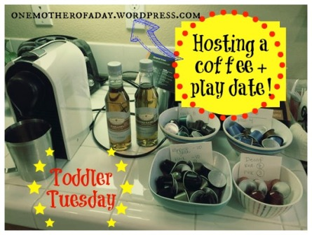 Toddler Tuesday: Coffee and play date