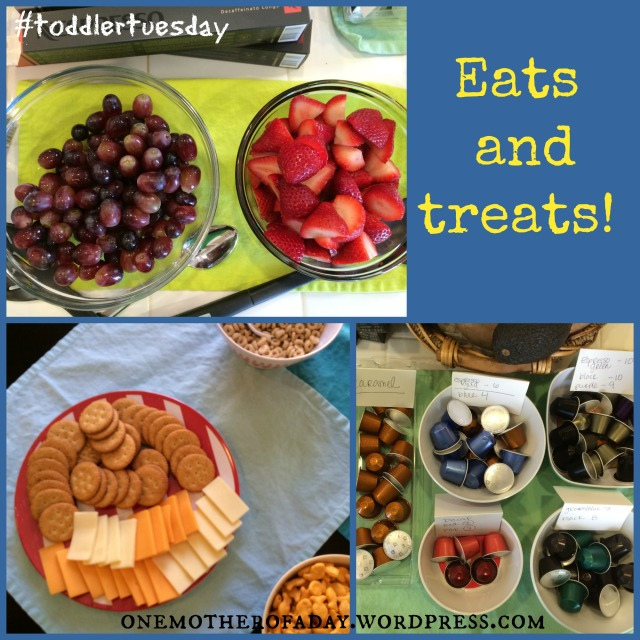 Toddler Tuesday: coffee and play date #toddlertuesday