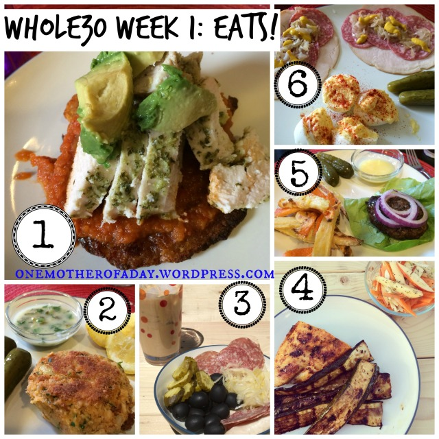 WIAW #15 whole30 week 1 eats