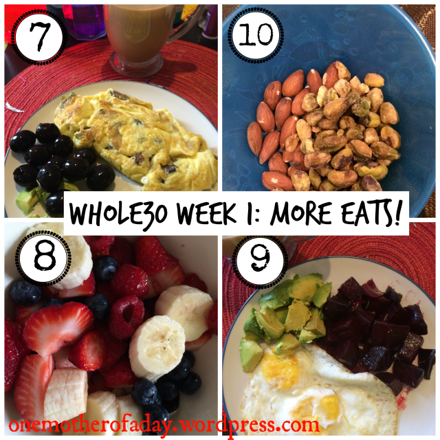 WIAW#15 whole30 week 1 eats