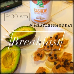 WIAW #21: What I ate on my {not-so} Meatless Monday